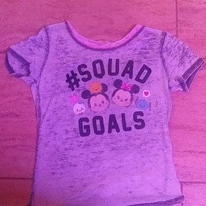 I am selling a disney sqaud goals shirt